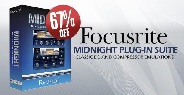 PIB Focusrite Midnight Suite
