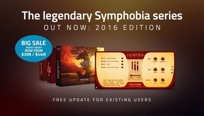 ProjectSAM Symphobia Series 2016 Editions