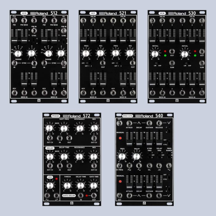 Roland System 500 modules