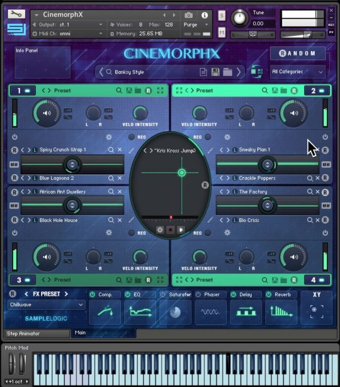 Sample Logic Cinemorphx 01