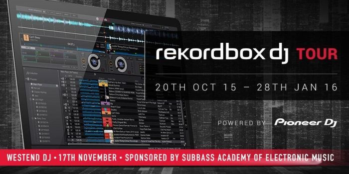 SubBass rekordbox dj Tour