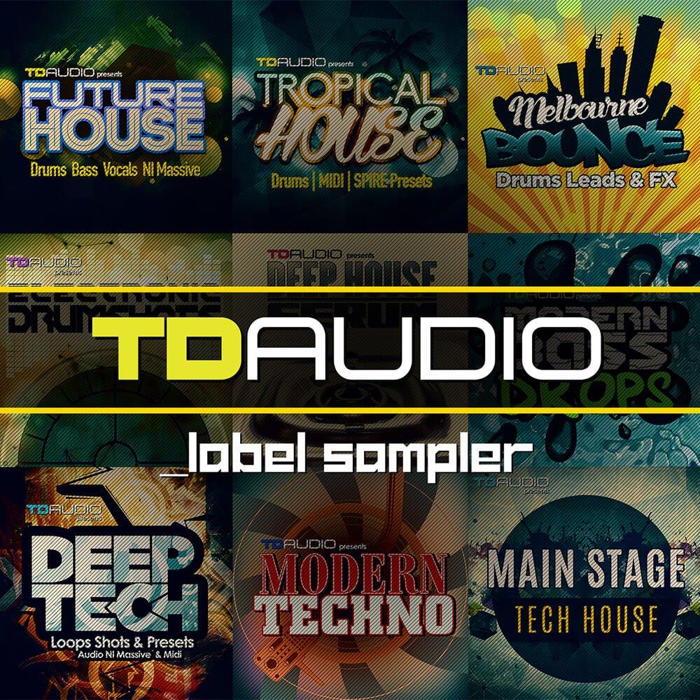 Loopmasters TD Audio Label Sampler + 30% off sale