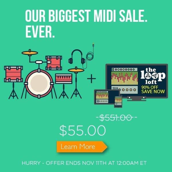 The Loop Loft MIDI Bundle Sale