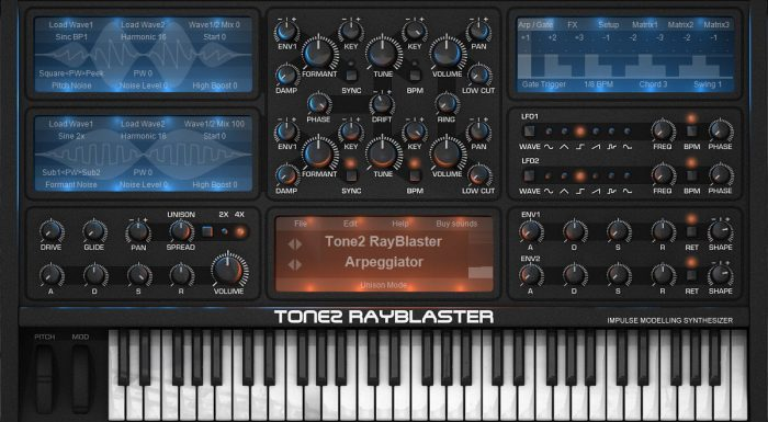Tone2 Rayblaster