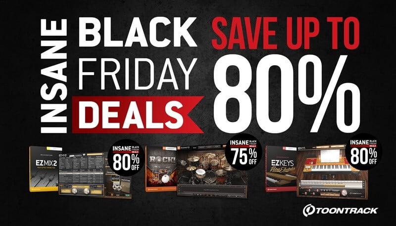 Toontrack Black Friday Sale 2015