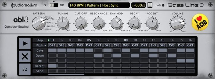 AudioRealism ABL3 pattern