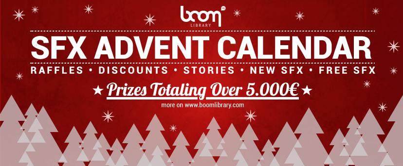 BOOM Library SFX Advent Calendar 2015