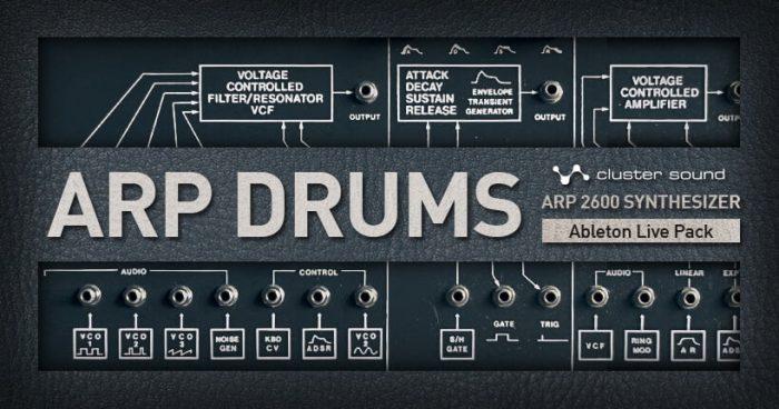 Cluster Sound ARP Drums