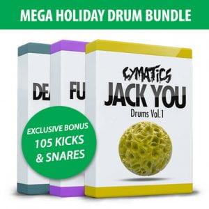 Cymatics Mega Holiday Drum Bundle