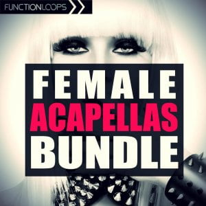 Function Loops - Female Acapellas Bundle