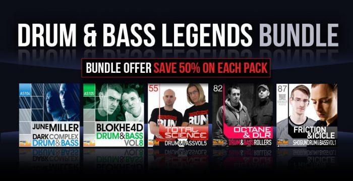Loopmasters Drum & Bass Legends Bundle