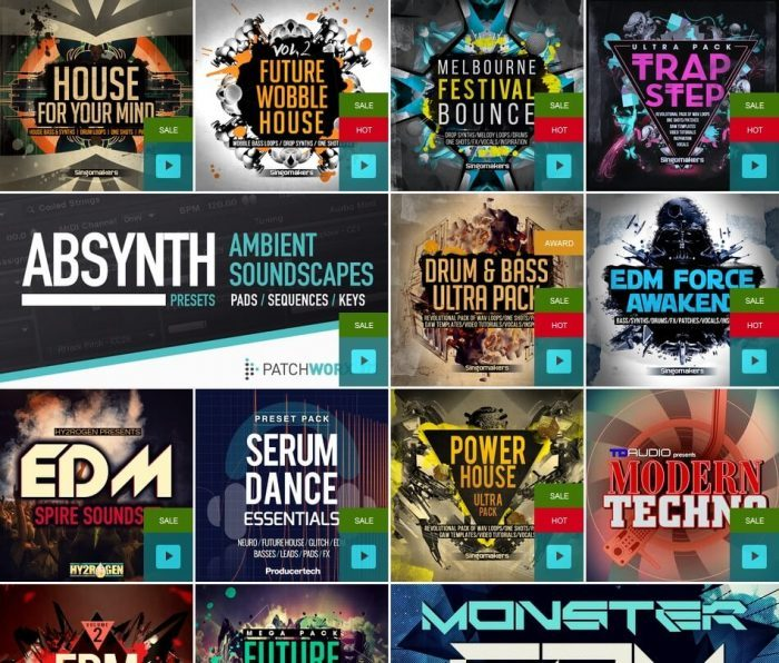 Loopmasters Synth Presets Flash Sale