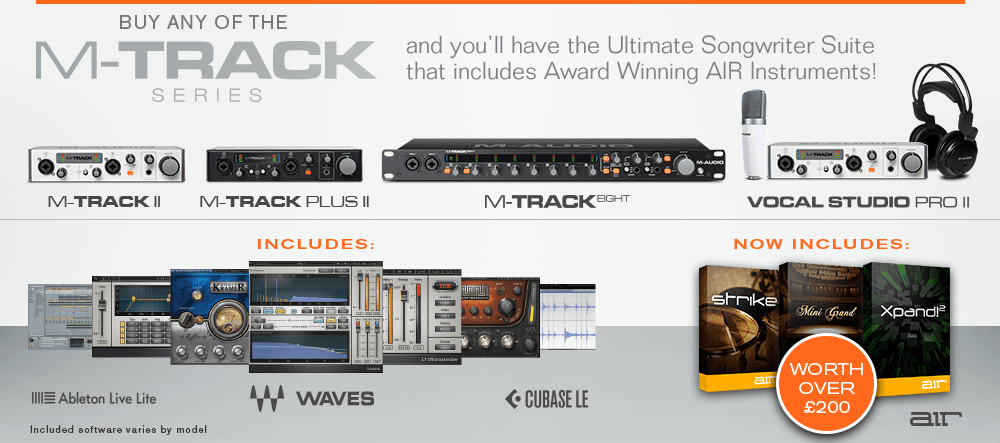 M-Audio M-Track II Series