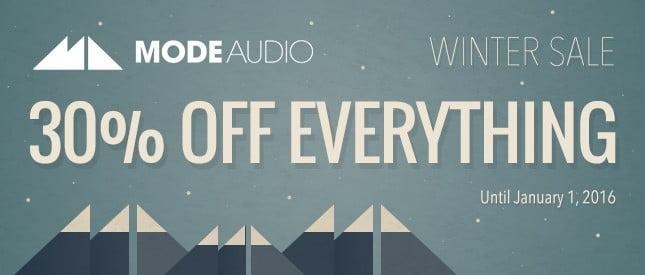 ModeAudio Winter Sale