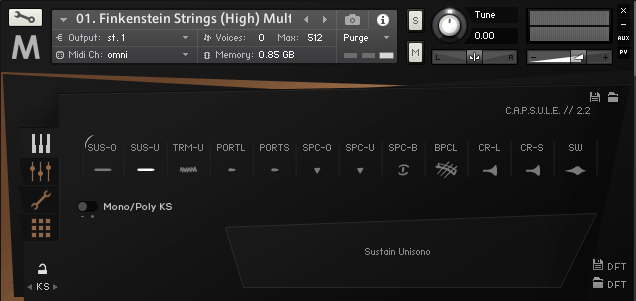 Orchestral Tools METROPOLIS ARK I_stringsHigh_Multi