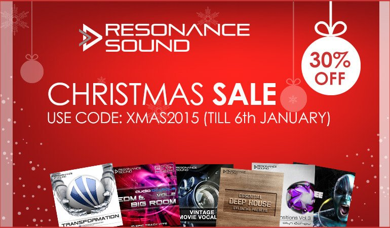 Resonance Sound Christmas Sale 2015