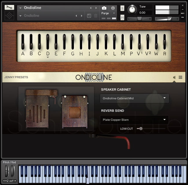 Soniccouture Ondioline speaker