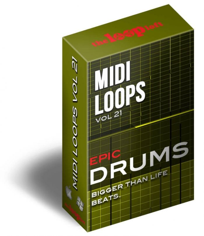 The Loop Loft Epic Drums Vol 1