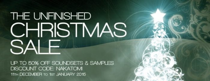 The Unfinished Christmas Sale 2015