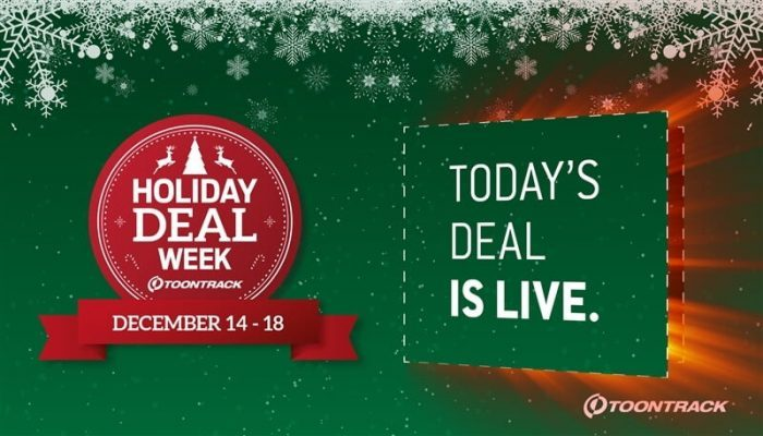 Toontrack Holiday Deal Week