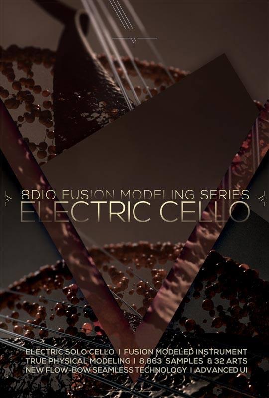 8Dio Electric Cello