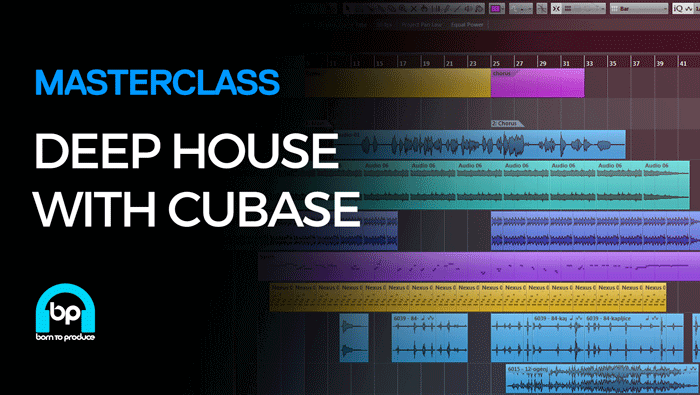 ADSR Sounds Deep House with Cubase