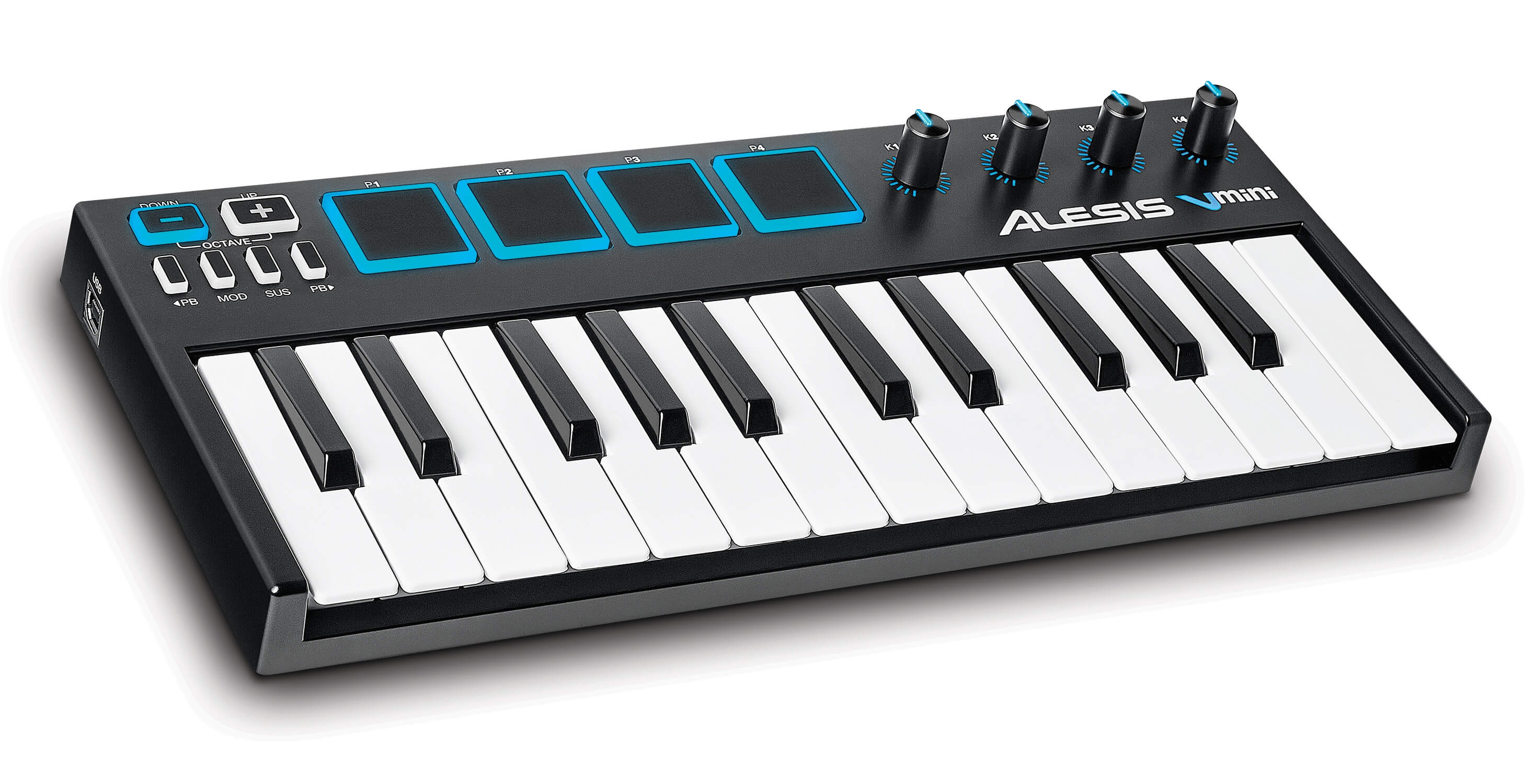 alesis v mini portable 25 key usb midi controller. Black Bedroom Furniture Sets. Home Design Ideas