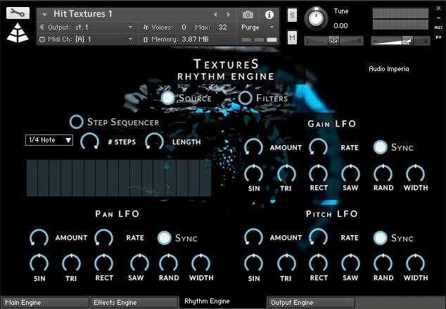 Audio Imperia Textures