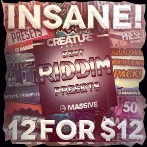 Creature Audio Insane 12 for 12