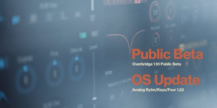 Elektron Overbridge 1.10 public beta
