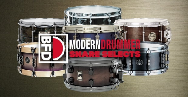 FXpansion BFD Modern Drummer Snare Selects