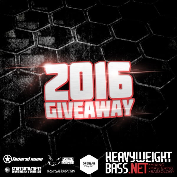 Heavyweight Bass 2016 New Year Giveaway