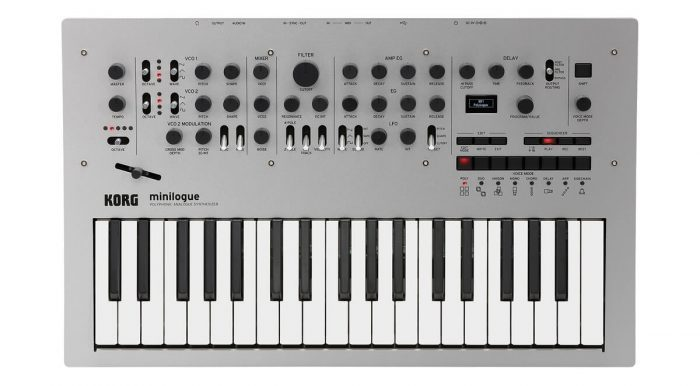 Korg Minilogue top