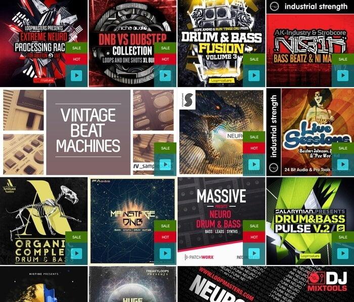 Loopmasters Drum & Bass Flash Sale
