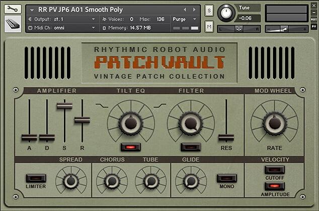 Rhythmic Robot PatchVault taster
