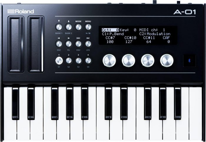 Roland A-01 with k-25m