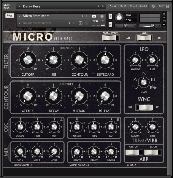 Samples From Mars Micro From Mars (Kontakt)