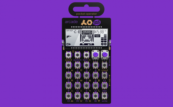 Teenage Engineering po-20 arcade feat