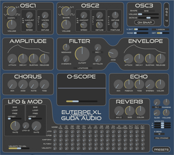 Guda Audio EuterpeXL