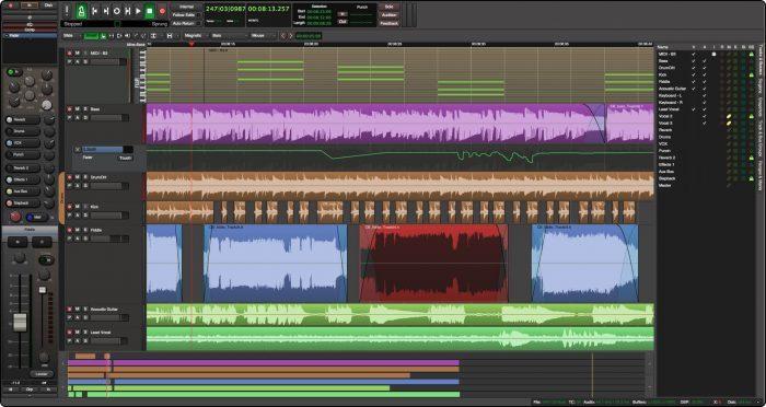 Harrison Mixbus Editor
