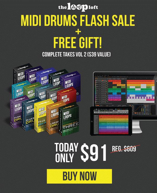 Loop Loft MIDI Drums Flash Sale