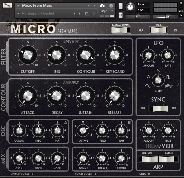 Micro From Mars main