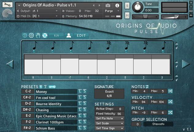 Origins of Audio Pulse