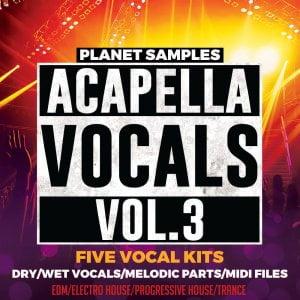 Planet Samples Acapella Vocals Vol.3