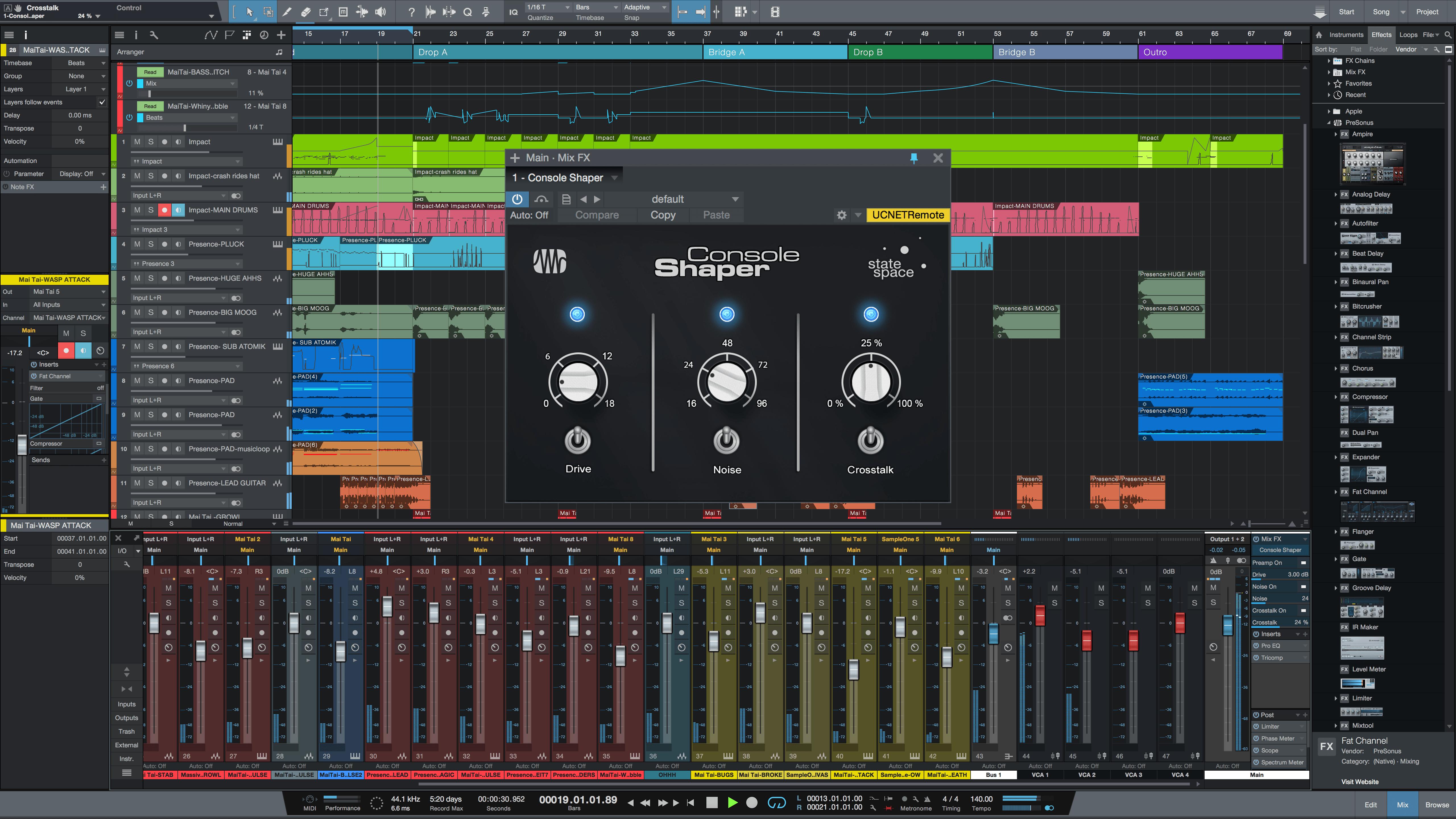 Presonus studio one pro 1.6.3