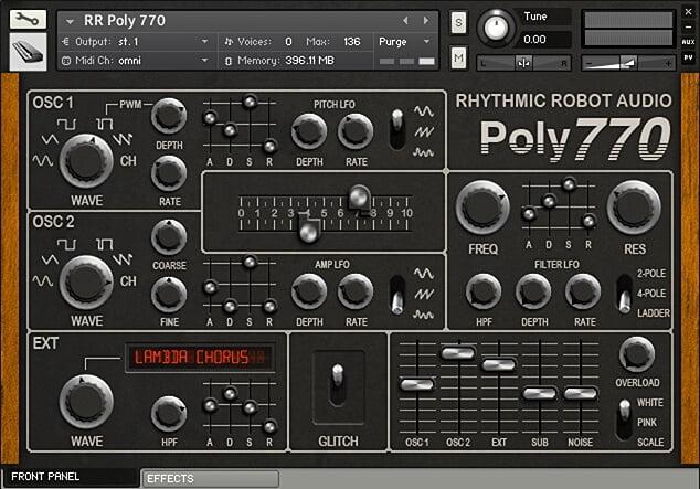Rhythmic Robot Poly 770