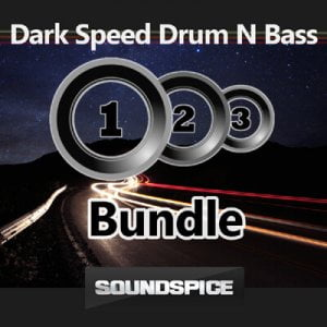 SoundSpice Dark Speed Drum'N'Bass Triple Bundle