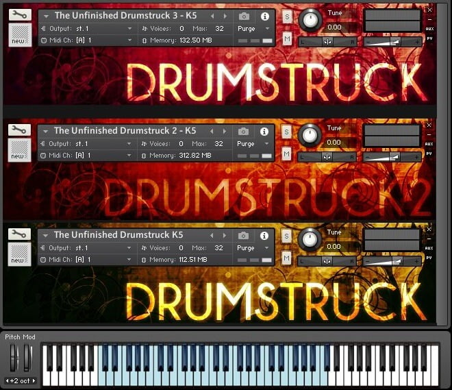 The Unfinished Drumstruck Bundle