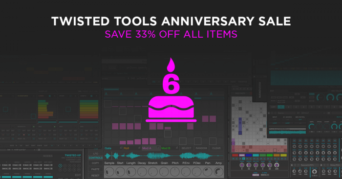 Twisted Tools 6th Anniversary Sale