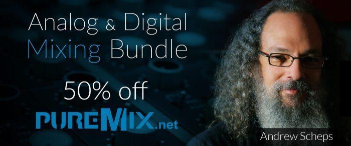 pureMix Andrew Scheps Analog & Digital Mixing Bundle